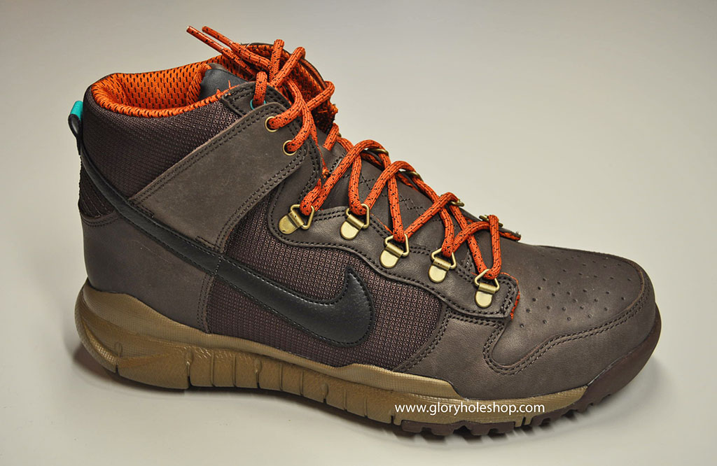 Nike Dunk Hi Free Winterized OMS Baroque Brown 536182-202