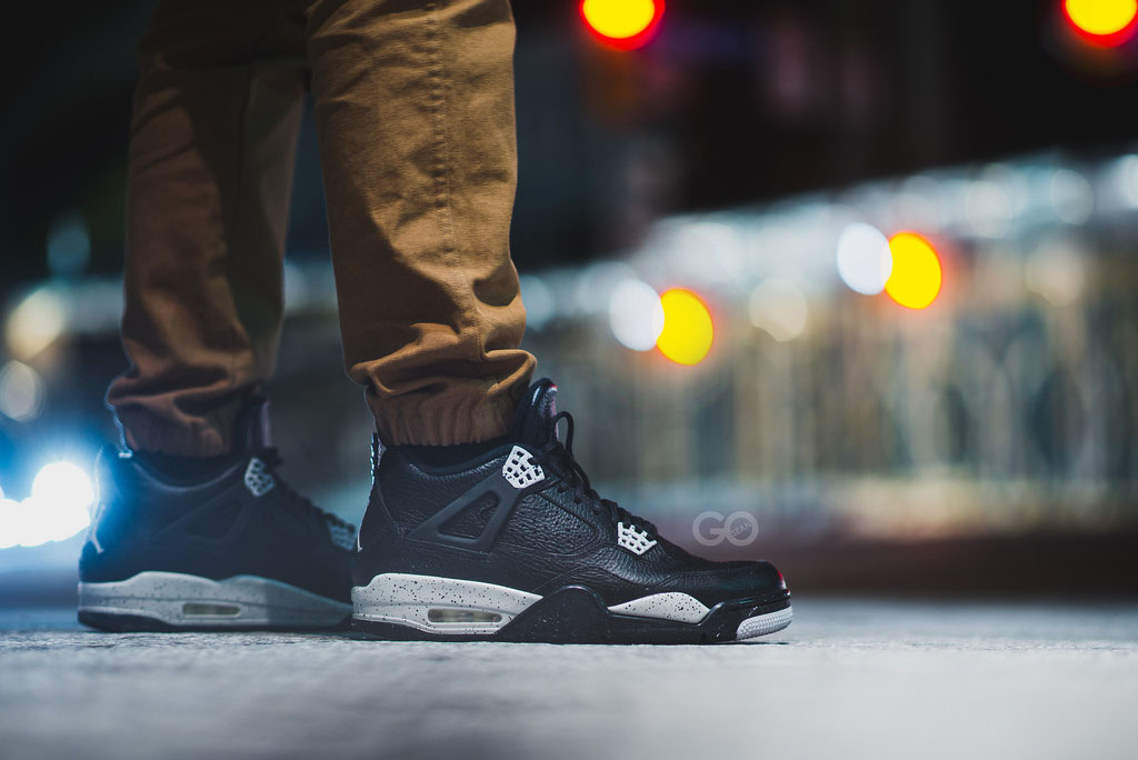 sgo8 wearing the 'Oreo' Air Jordan IV 4 Retro