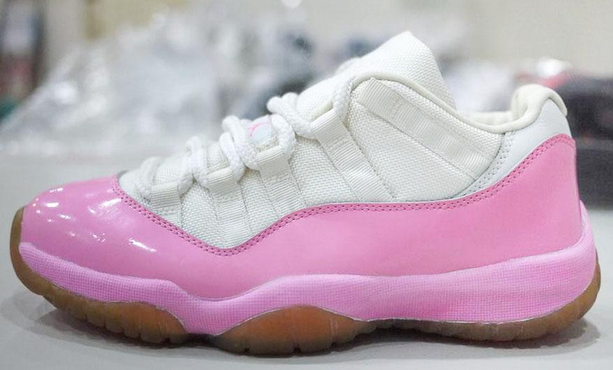 68257eae7a620e Air Jordan XI 11 White Pink Frost Sample