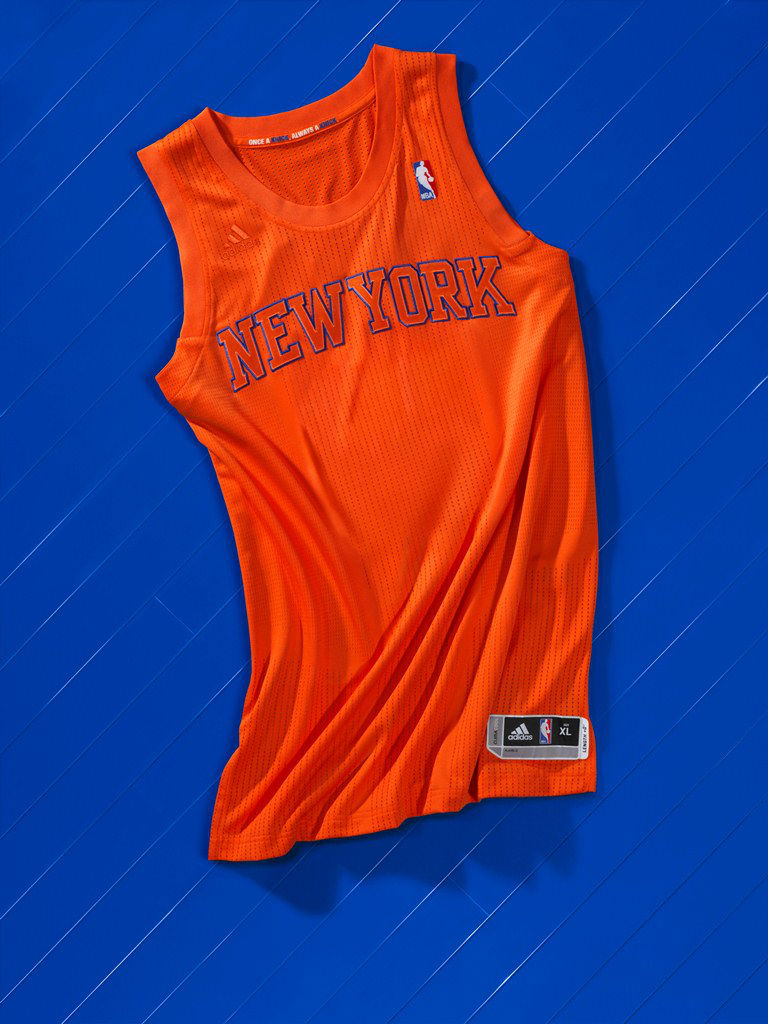 adidas BIG Color NBA Christmas Day Uniforms New York Knicks
