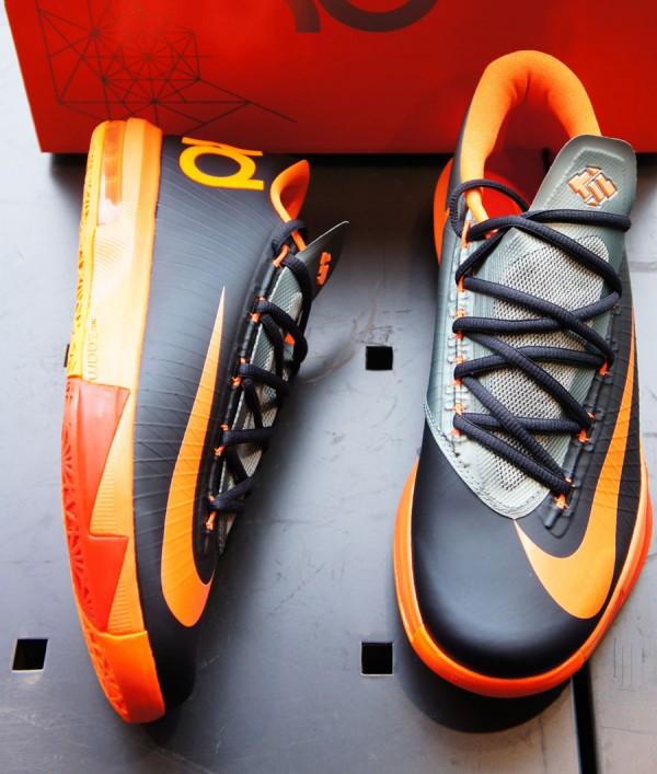 6d85c78d65f7 Nike KD VI -Anthracite Total Orange-Mica Green