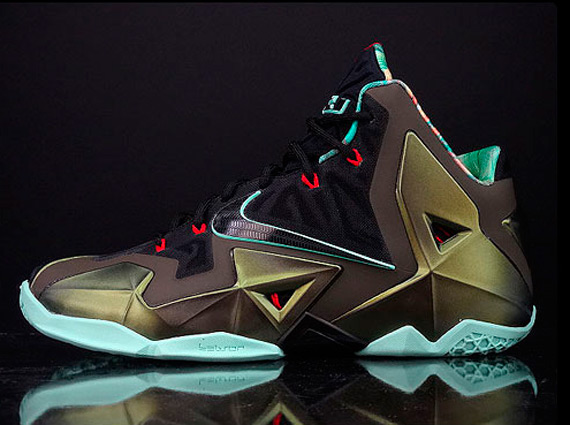 cheaper 03c29 b9bdd The  King s Pride  Nike LeBron XI is set to release October 12th at select  Nike Basketball retailers.