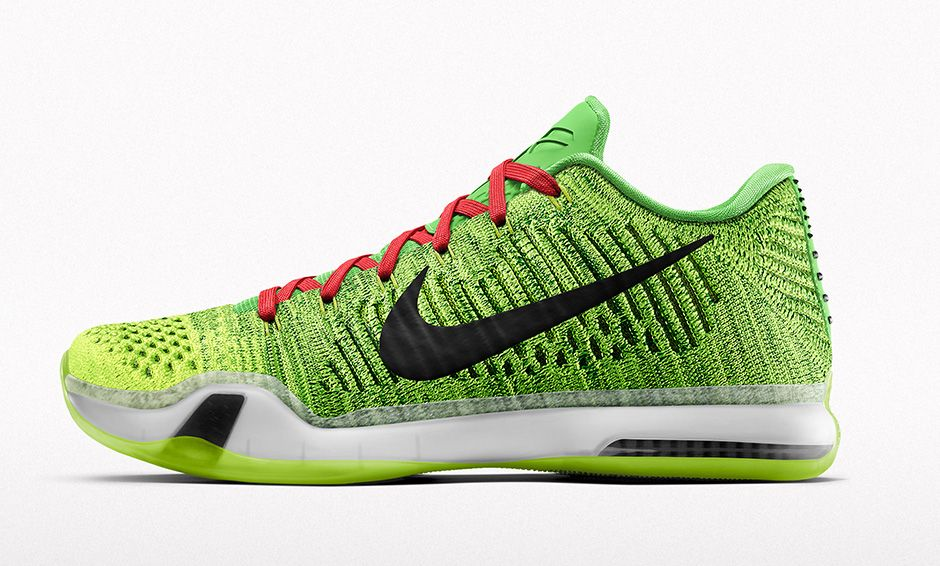 NIKEiD Kobe 10 Elite Grinch Option