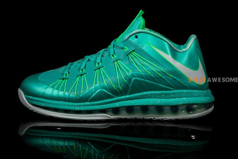 sale retailer 63ef7 b111e Nike LeBron X Teal Easter 579765-300 (2)