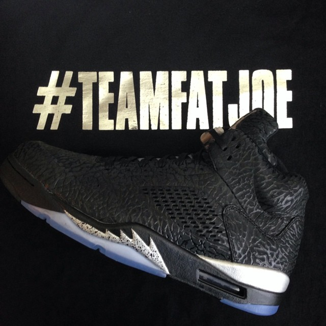 Fat Joe Picks Up Air Jordan 3Lab5 Metallic