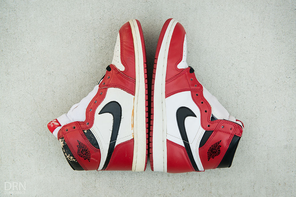 reputable site 32e33 9871c Comparing 30 Years of 'Chicago' Air Jordan 1 Releases | Sole ...
