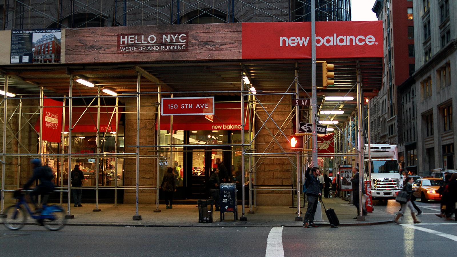 new balance shop in new york city