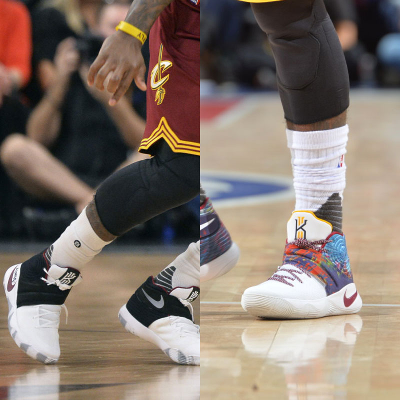 #SoleWatch NBA Power Ranking for January 17: Kyrie Irving