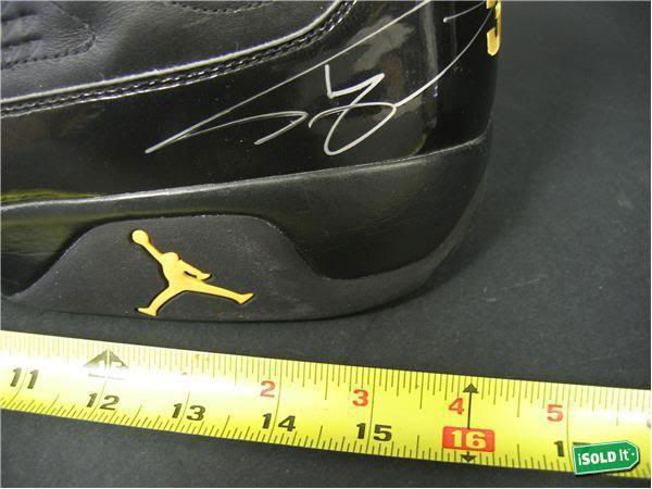 Air Jordan IX 9 Shaquille O'Neal Shaq Lakers Away PE (3)