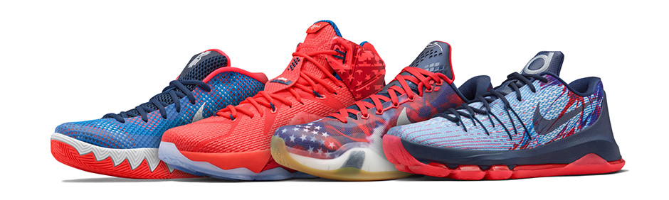 newest 8d7e9 3624d This Is How Nike Basketball Celebrates the 4th of July   Sole Collector