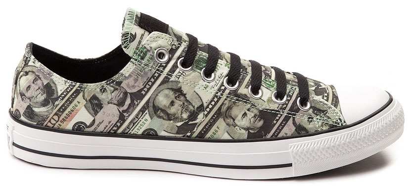 Converse Chuck Taylor All Star Lo Money Print