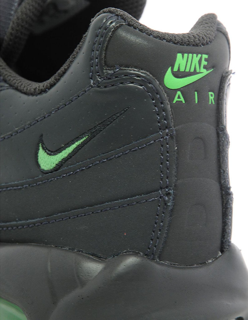 buy online 36b73 f6d71 Nike Air Max 95 Black Green JD Sports Exclusive (5)