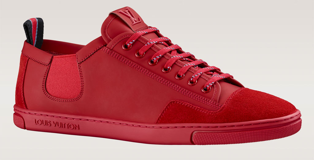 Louis Vuitton s Slalom Sails in Red   Sole Collector 1537a85e6df