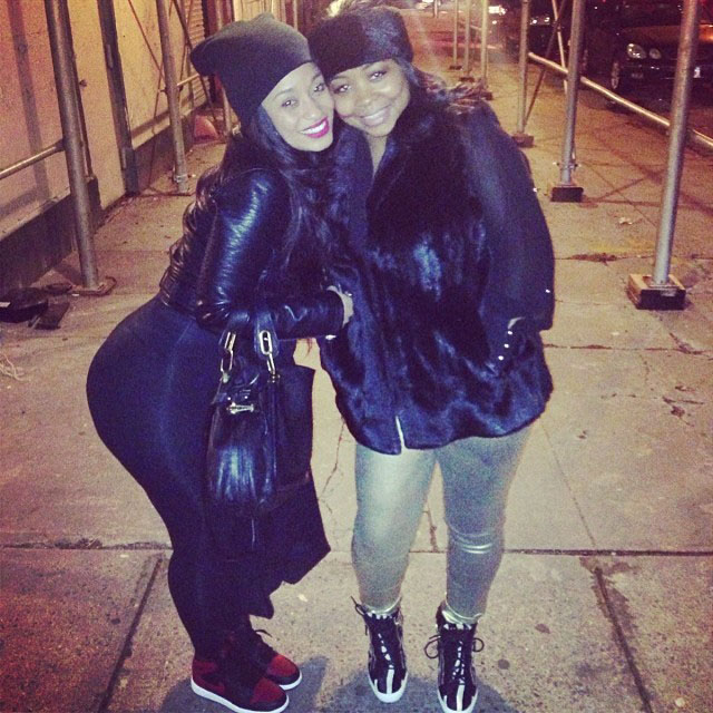 Tahiry wearing Air Jordan 1 Retro Bred