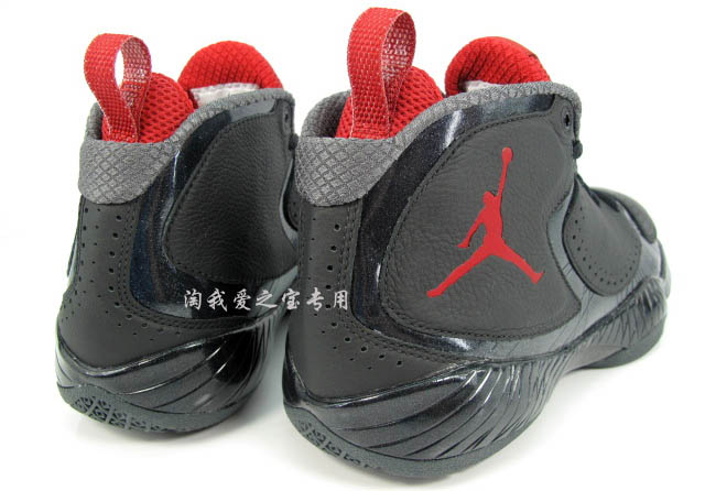 Air Jordan 2012 Black Red Grey 508318-010 (3)
