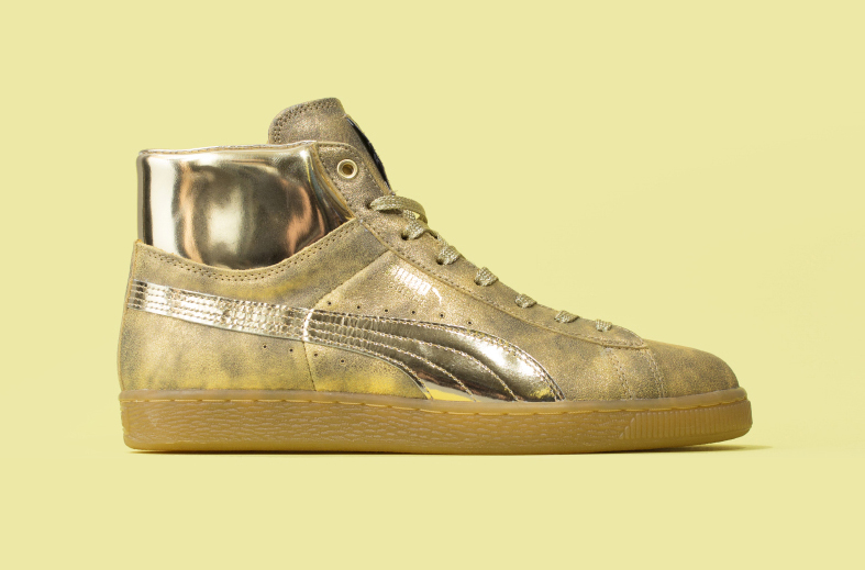 puma gold and silver