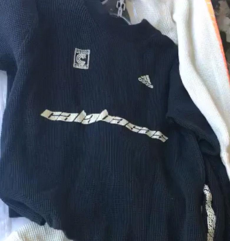 Kim Kardashian & Kanye West adidas Calabasas Clothing Black