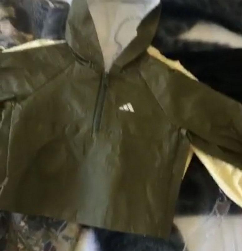 Kim Kardashian & Kanye West adidas Calabasas Clothing Olive