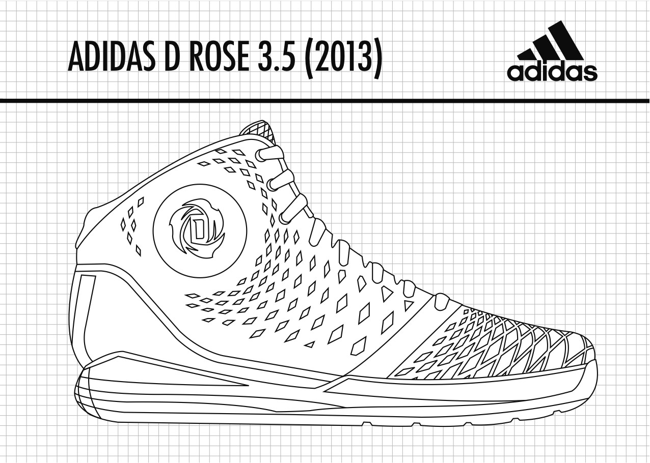 adidas shoe template gallery