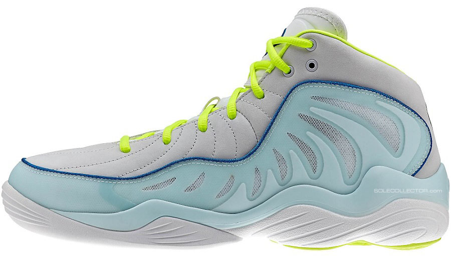 Reebok Answer XIV 14 Grey/Teal-Neon (2)