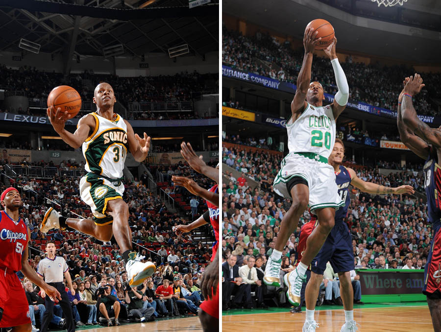 Ray Allen Wears Size 15 Jordan Shoes (3)