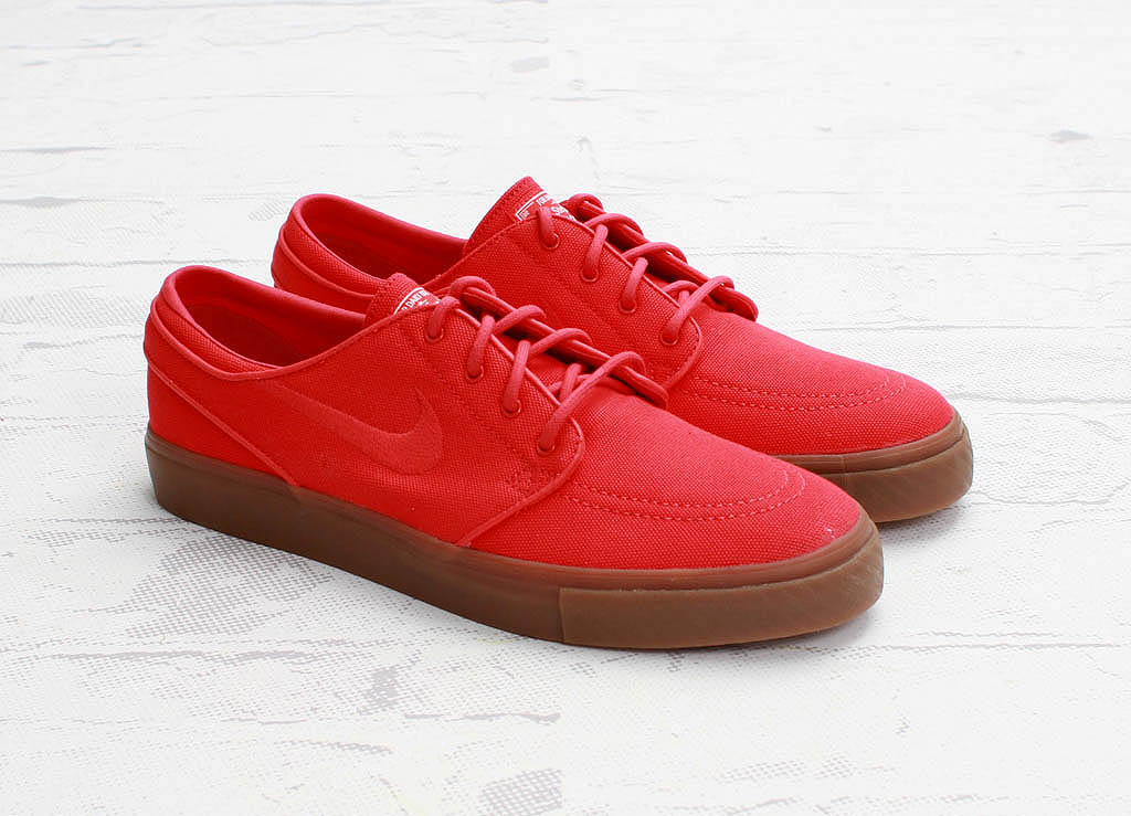 nike sb janoski black red sail