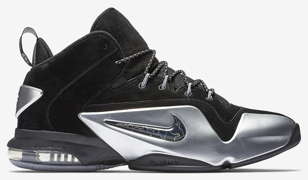 buy online 5ca76 f0055 Nike Zoom Penny 6 Black Silver 749629-002 (2)