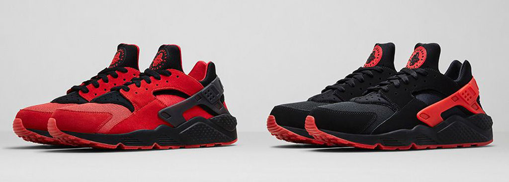 Following up to this weekend's Air Flight Huarache and Air Trainer Huarache  release are these two colorways of the Nike Air Huarache.