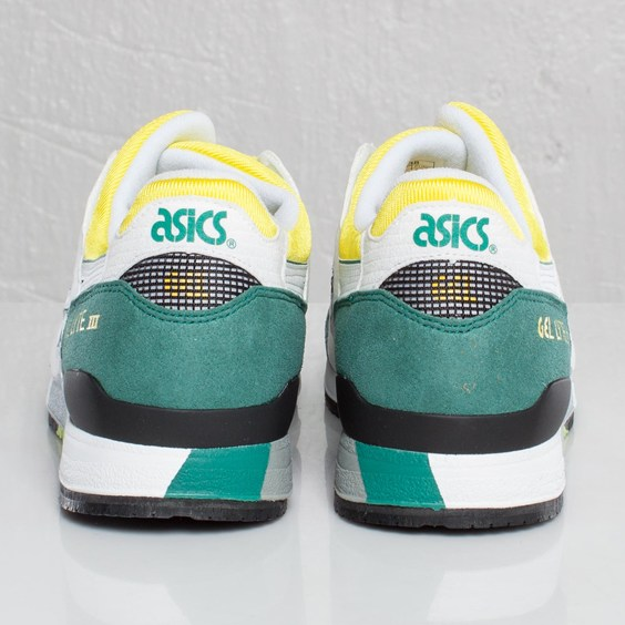 newest 23053 3a3b7 Asics Gel Lyte III White/Green/Yellow OG Colorway | Sole ...