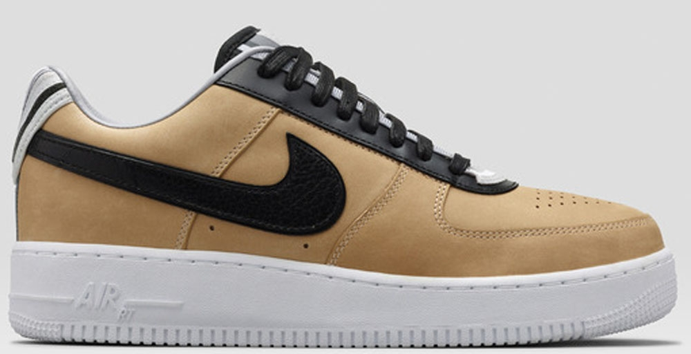 Nike Air Force 1 Low Supreme RT Vachetta Tan/Black