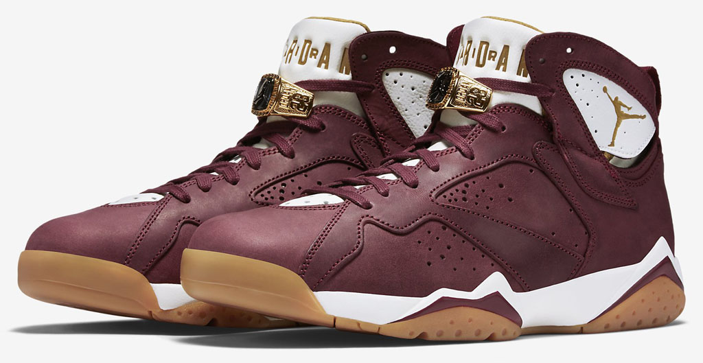 separation shoes cc05c 8c77e Air Jordan VII 7 C C Cigar Champagne Team Red Gold 725093-630 (6