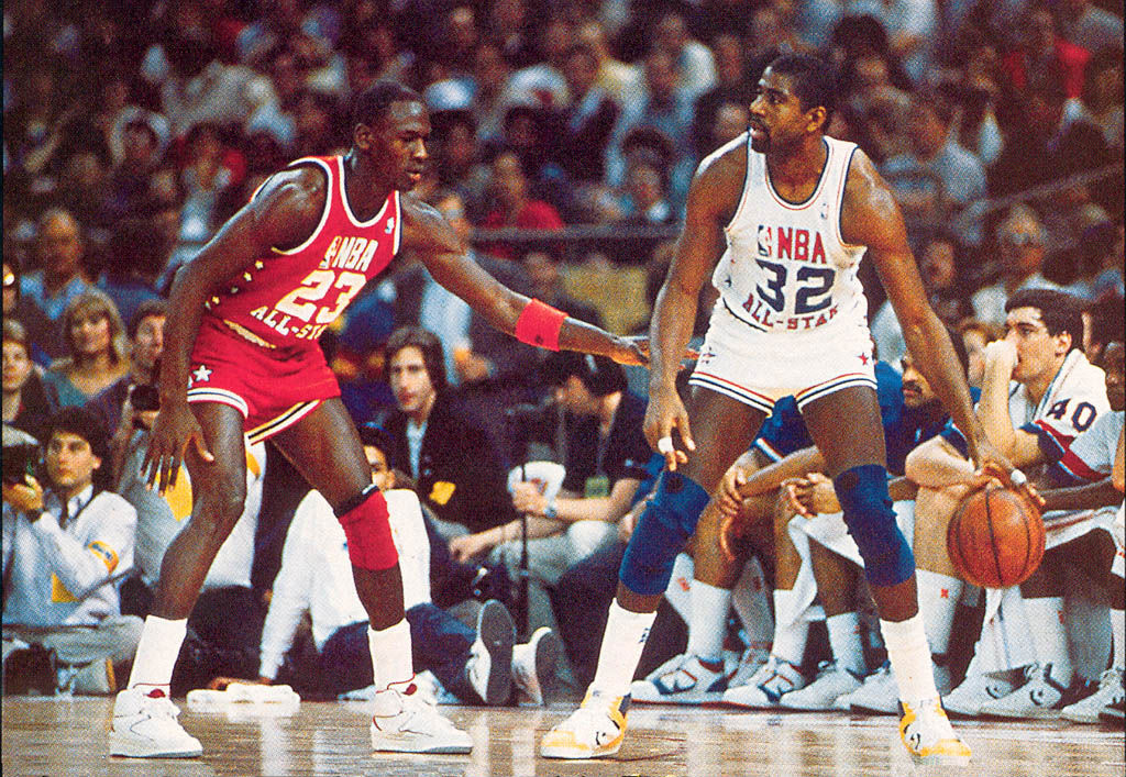 #2350 // 50 Classic Michael Jordan All-Star Game Photos (2)
