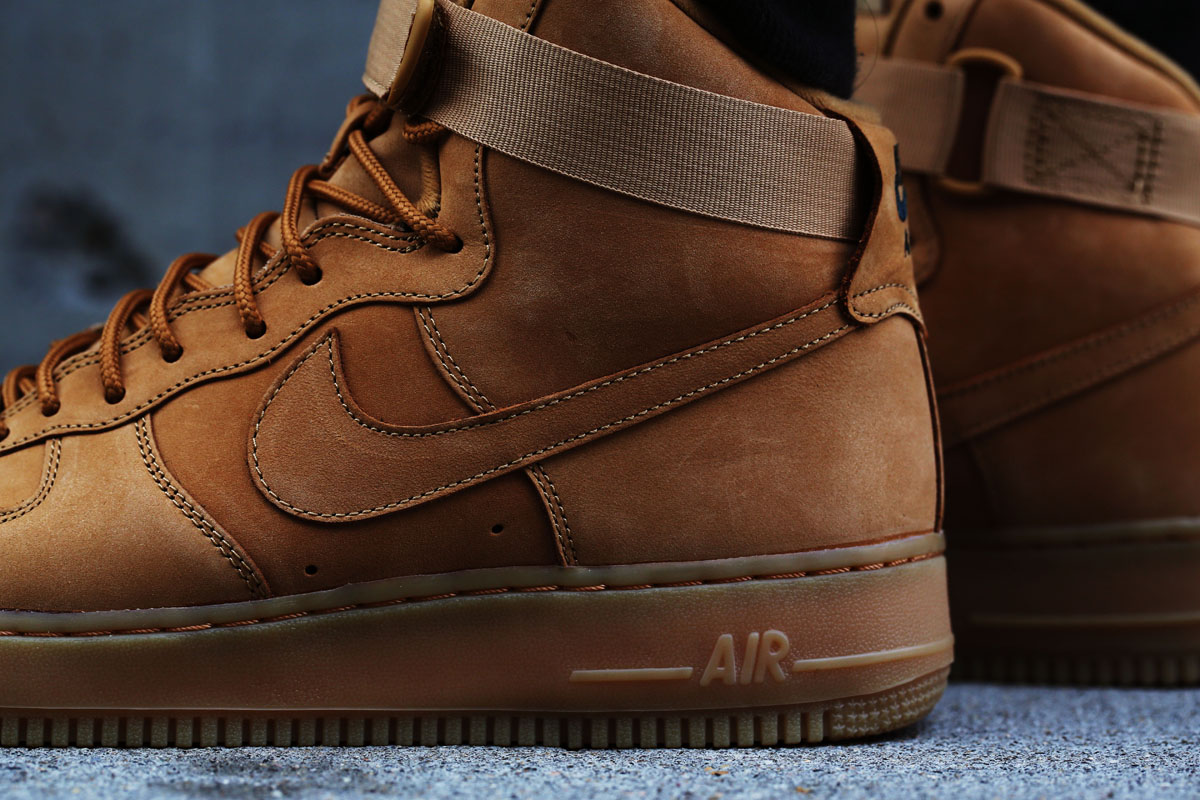 Here's an OnFeet Look at the 'Wheat' Nike Air Force 1
