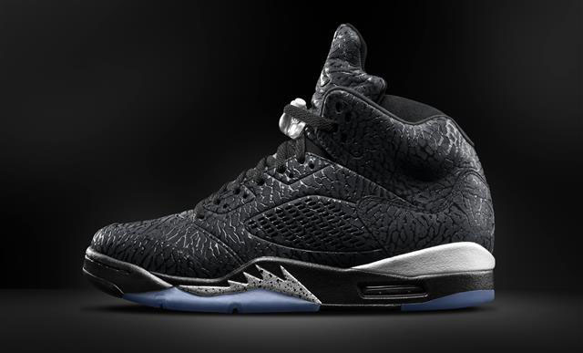 Air Jordan 3Lab5 Black/Metallic Silver Release Date 599581-003