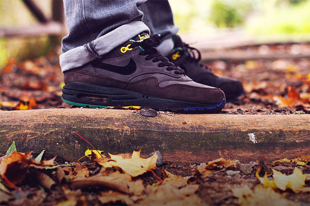 b_represent in the 'Black History Month' Nike Air Max 1