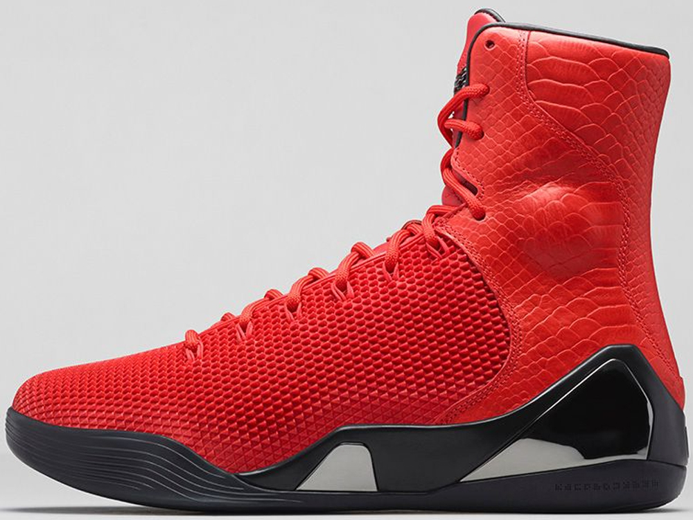 Nike Kobe IX High KRM EXT Challenge Red/Challenge Red