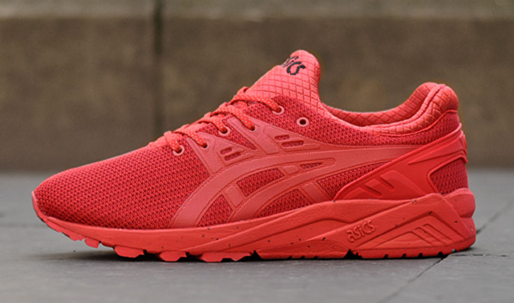 Asics Gel Kayano EVO Red Winter Tech (2)