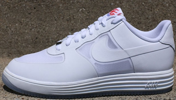 Nike Lunar Force 1 Fuse Leather White/White-Challenge Red-Game Royal