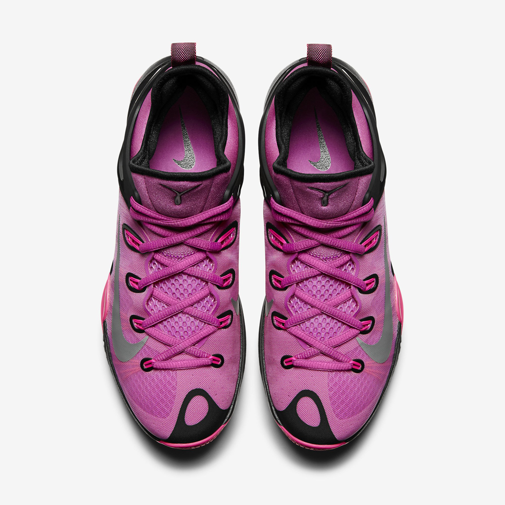new concept b9e29 d7a1c The  Think Pink  Nike Zoom HyperRev 2015 is available now at nike.com as  well as select Nike Basketball retailers for  130.