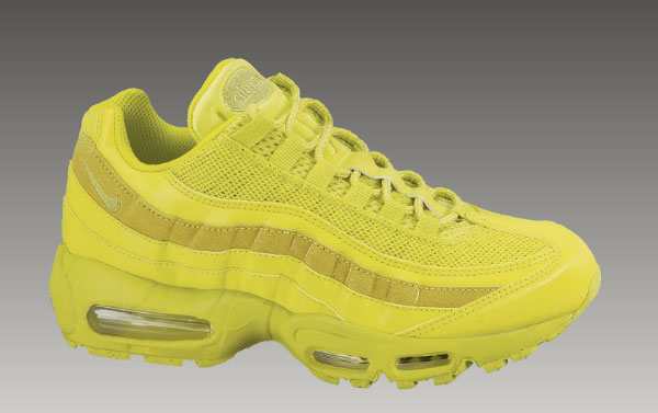95 Air Max Shoes Yellow