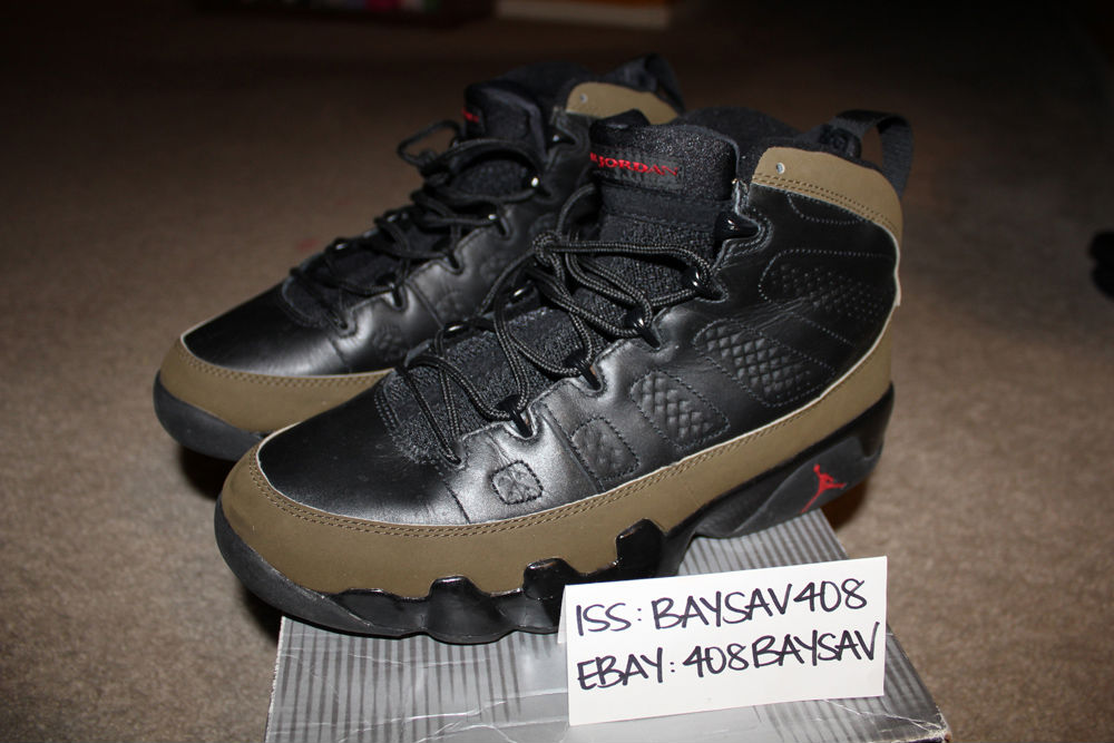 Spotlight // Pickups of the Week 12.8.12 - Air Jordan IX 9 Olive '02 by BaySav408