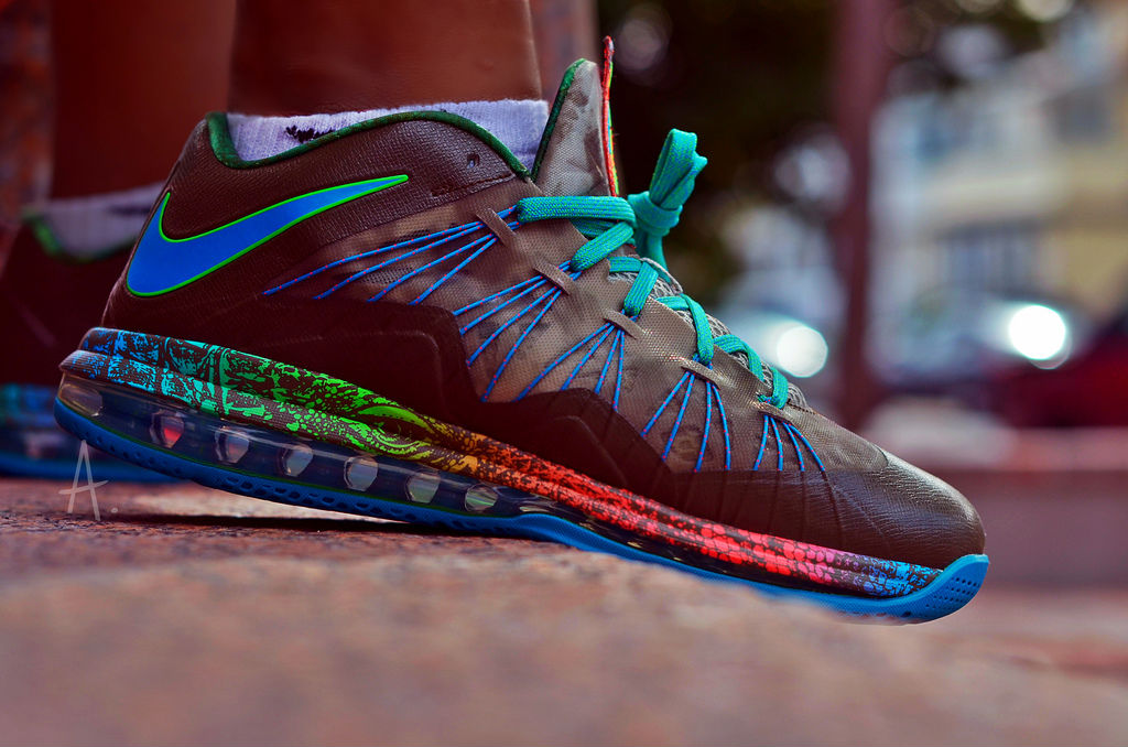 Spotlight // Forum Staff Weekly WDYWT? - 9.21.13 - Nike LeBron X 10 Low Reptile by Drastic