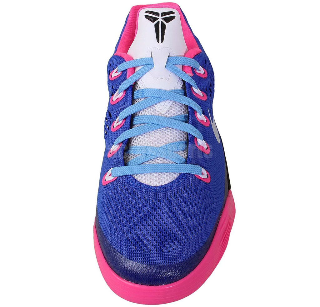 save off 679bf 99643 Nike Kobe IX 9 EM GS Hyper Pink White-Hyper Cobalt 653593-600