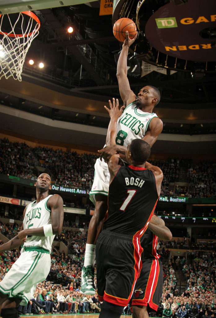 Jeff Green Posterizes Chris Bosh in the Nike Hyperdisruptor (5)