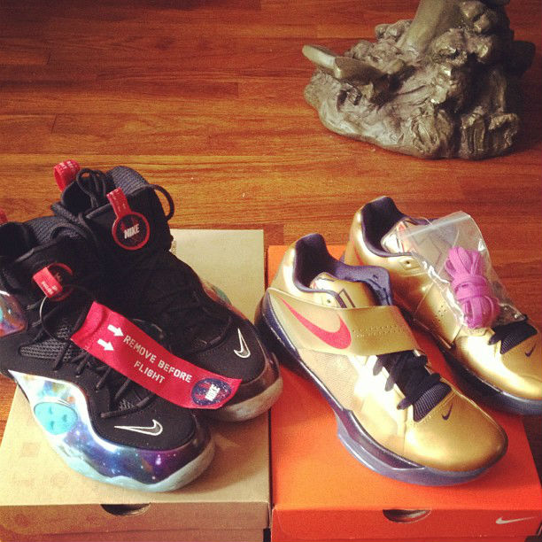 Sole Collector x Nike Zoom Rookie Galaxy Release Recap - s4mr