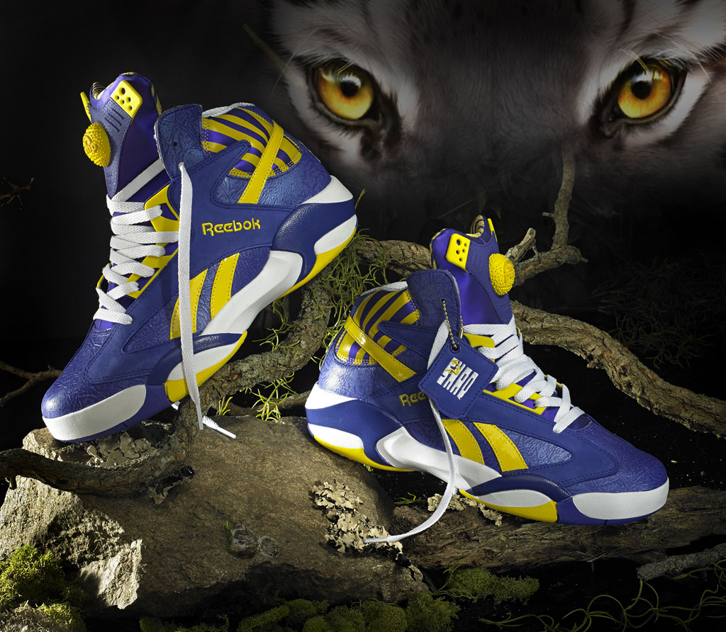 Reebok Shaq Attaq LSU Tigers (1)