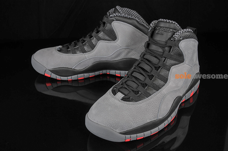 efa47e083f6643 Another Look at the Cool Grey Infrared Air Jordan 10 Retro
