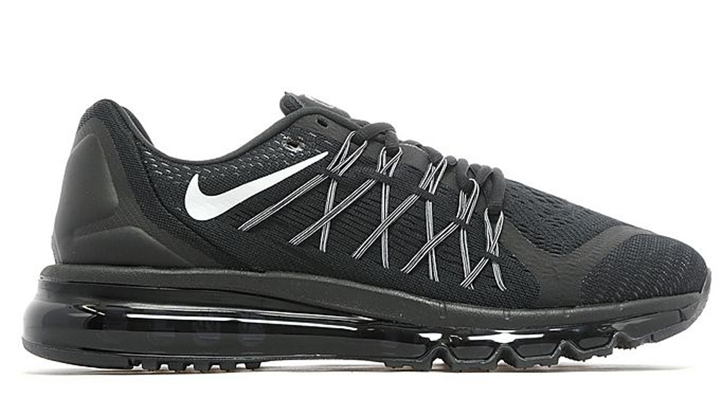Mens Shoes Air Max 2015 Nike Black Silver Wildflower Clinic