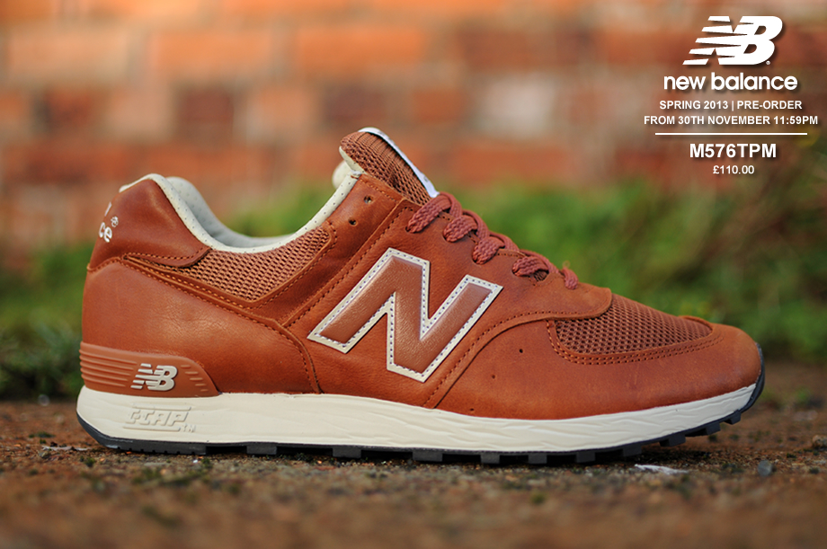 new balance leather 574 shoe