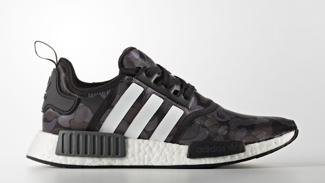 Adidas NMD x BAPE Black Camo Sole Collector Release Date Roundup